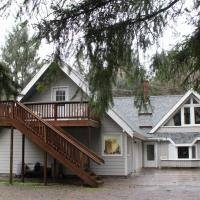 Eagles Nest Chalet Front View